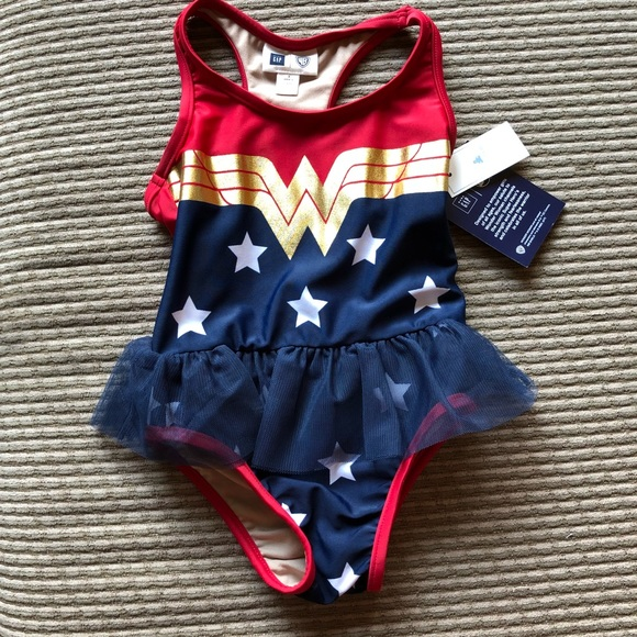 573a950727b83 GAP Swim | Wonder Woman Bathing Suit | Poshmark